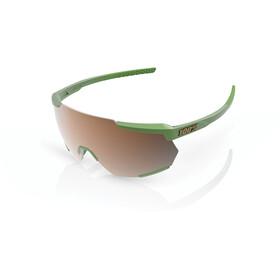 100% Racetrap Gafas, matte metallic viperidae/bronze mirror